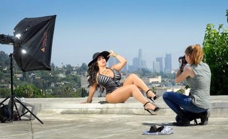 Mercedes Javid Rooftop Shoot